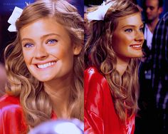 ~ Constance Jablonski backstage of the VSFS.
