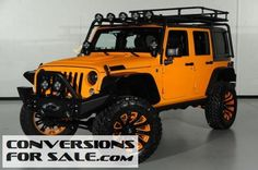 2014 Jeep Wrangler Unlimited Kevlar Coated Custom Leather Lifted