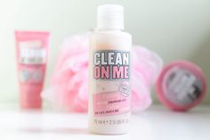 Clean on me  Soap &glory pink girly cosmetics  https://instagram.com/minti_cherry/ http://minticherry.com/