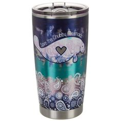 Chubby Mermaids 20 oz Stainless Steel Chubby Mermaid Tumbler | Bealls Florida Casita Camper, Spirit Of Summer, Vinyl Tumblers, Tumbler Cups, Paisley Design, Coastal Style, Green And Purple, Small Gifts, Cool Gifts