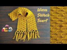 Meladoras Creations | Wave Stitch Scarf – Free Crochet Pattern - Meladoras Creations