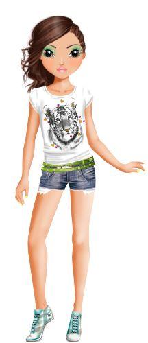 1000 images about topmodel talita on pinterest top models creative studio and google - Top model a imprimer ...