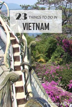Vietnam is a wonderful country with an impressive history, very friendly people and delicious food. And LOTS of great things to do! I spend a month in this wonderful country and left because my visa ran out, not because I ran out of thing to do;-)