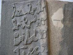Libro de arena (detalle)