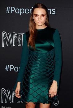 'Everyone has a right to be whoever they want to be': Cara said she is happy that the US a...