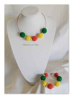 https://www.facebook.com/Hobbystica/ #necklace #bracelet #jewelry #parure #bracciale #collana #crochet #madeinfacebook #lemaddine #handmade #handcrafted #instagram #instapic #instagood #picoftheday #instacool #cool #cute #jewelry #jewellery #jewels #jewel #bijoux #handmadejewelry #crochet #crocheting #crochetaddict #necklace  #hobbysticabynany