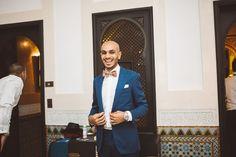 Tatum and Youssef's Elegant Garden Party Wedding in Marrakech by Danielle…