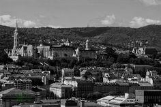 landscape - Buda views of the Basilica Cityscapes, Paris Skyline, Landscape, Travel, Scenery, Viajes, Destinations, Traveling, Trips