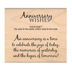 Found It At Blitsy My Sentiments Exactly Mounted Stamp 2x3 Anniversary Wishes