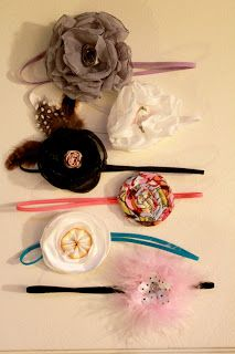 The Sassy Pepper: Headband Tutorial and Bitsy Bands GIVEAWAY!!!