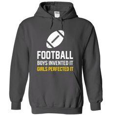 Football girls T Shirts, Hoodies. Get it here ==► https://www.sunfrog.com/Sports/Football-girls-Charcoal-7509381-Hoodie.html?57074 $39