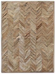 Pure Rugs Patchwork Cowhide Yves Wheat Area Rug Rug Size: Rectangle x Man Cave Essentials, Patchwork Rugs, Patchwork Ideas, Cow Hide Rug, Joss And Main, Beige Area Rugs, Decoration, Rug Size, Chevron