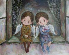 Задумчивые ангелы.