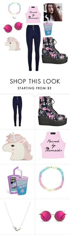 """Jessie Paege"" by lilangelrere ❤ liked on Polyvore featuring Skinnydip, Accessorize, Betsey Johnson and Matthew Williamson"