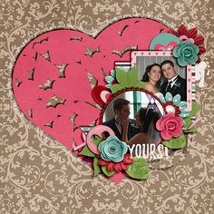 The Digichick :: Templates :: Paper Hearts Templates Vol. 6 by Meagan's Creations
