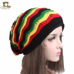 Stretchy /& Soft Winter Cap Thin Rasta Lion Men /& Women Solid Color Beanie Hat