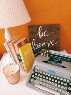 Be Brave // 12x12 Hand Lettered Wood Sign by shopbelovedpaper