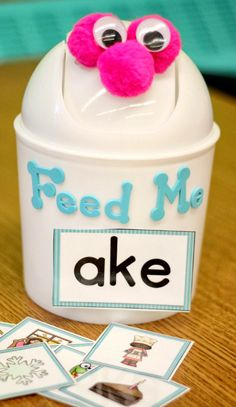 A Differentiated Kindergarten: More Differentiated Word Family Word Work With CVCe Words and a Giveaway!