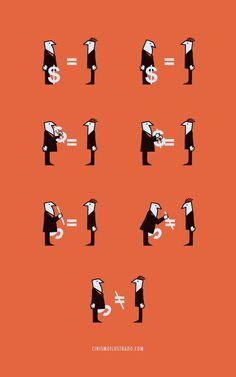 (des)igualdad Cinismo Ilustrado