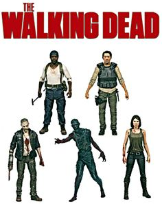 MCFARLANE The Walking Dead TV Series 5 Set of 5 Figures - PRE ORDER  #thewalkingdead #walkingdead
