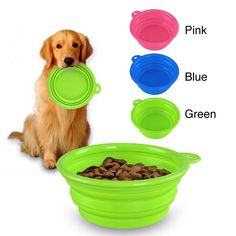 INSTEN Collapsible Soft Silicone Pet Bowl - Overstock™ Shopping - The Best Prices on INSTEN Pet Bowls