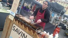 @SavinHillFarm cooking hard at Alty Mkt
