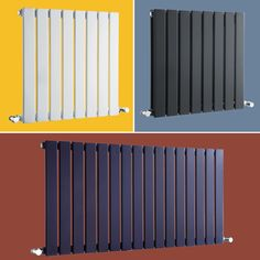 Designer Central Heating Radiator Horizontal Flat Panel Bathroom 600 mm Wide UK in Home, Furniture & DIY, Heating, Cooling & Air, Radiators Modern Radiators, Home Radiators, Contemporary Radiators, Modern Contemporary, Central Heating Radiators, Narrow Boat, Designer Radiator, Outdoor Furniture, Outdoor Decor