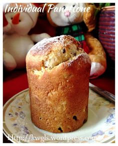 Individual Panettone (意大利圣诞面包) This is the famous Italian Christmas bread commonly sold in the top end supermarkets. See if you are keen to prepare some at home this year.  #guaishushu   #Kenneth_goh #panettone  #意大利圣诞面包