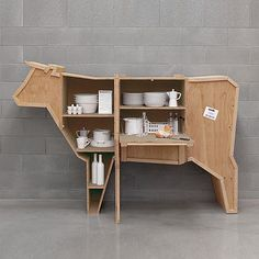 Cow Storage Cabinet (aslo smaller pig and goose cabinets) - @Blair R Munday this would take your cow love to the next level! haha