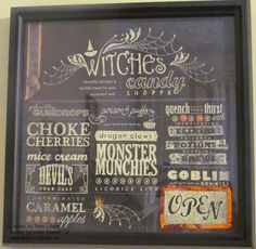 Simply Encouragink: Witches Candy Shoppe Sign