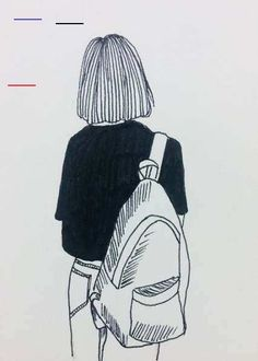 (notitle) - Anju R Pillai - - (notitle) - Anju R Pillai Pencil Art Drawings, Art Drawings Sketches, Easy Drawings, Tumblr Sketches, Simple Sketches, Music Drawings, Doodle Sketch, Doodle Art, Illustration Mode