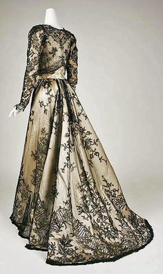 Evening Dress 1898-1899 United States MET