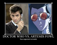 The Doctor vs. Artemis by Ryter-Productions.deviantart.com on @DeviantArt | Artemis Fowl, Doctor Who crossover