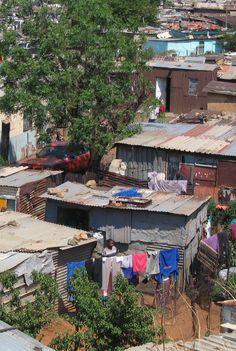 Johannesburg Shanty Town