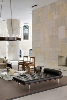 tv lounge leasing reception stone wall option Mamilla Hotel, Jerusalem by Safdie Architects, Interior by Piero Lissoni Contemporary Interior Design, Modern Interior, Interior Architecture, Contemporary Architecture, Creative Architecture, Design Hotel, Hotel Lobby, Hotel Interiors, Hotel Decor