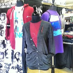 Just a few of Barnabas Clothing's cool designs.