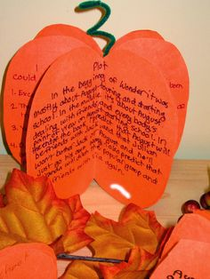 Runde's Room: Plot in the Pumpkin Patch