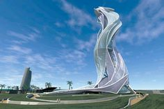 Tall Emblem Structure, Dubai (competition) - B+U