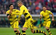 Download wallpapers Andrey Yarmolenko, goal, 4k, BVB, footballers, Borussia Dortmund, soccer, Bundesliga, Andriy Yarmolenko
