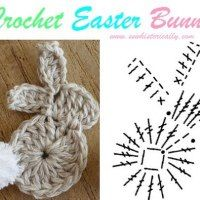 Crochet Diy Crochet Easter Bunny Tutorial Free Pattern - Crochet Bunny Applique Free Patterns: Easy and Quick Easter Bunny / Rabbit Applique and Motifs crochet pattern most free for Easter crochet decoration Crochet Diy, Crochet Easter, Crochet Pattern Free, Easter Crochet Patterns, Crochet Motifs, Crochet Diagram, Crochet Stitches Patterns, Crochet Chart, Crochet Patterns Amigurumi