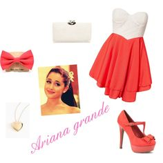 Ariana grande's style = PERFECTION <3  OMG I have a dress that looks just like this!