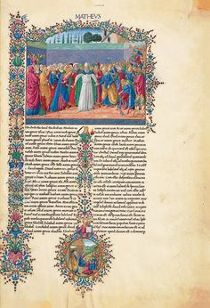 The Bible of Federico da Montefeltro may be considered a great celebration of the art of illumination. This work embodies the peak of development in the fifteenth century of the culture of the figurative arts in Italy and Europe. A work of monumental proportions This Bible was produced at a time when the practice of printing with movable types was…
