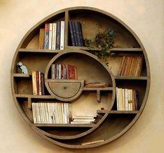 Creative Bookshelf Designs(Circle)