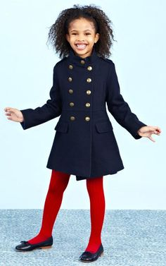Oscar de la Renta Childrenswear Fall/Winter 2014 Trunkshow Look 3 on Moda Operandi