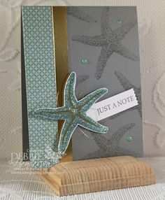 Stampin' Up! Picture Perfect, Gold Foil and Gold Wink Of Stella. Debbie Henderson, Debbie's Designs.
