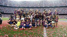 La festa del campió de Lliga | FC Barcelona