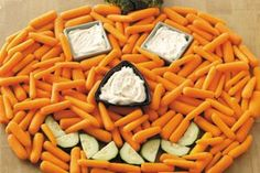 Carrot pumpkin with cheese dip. Healthy snack for kids and adults. @hosllanne