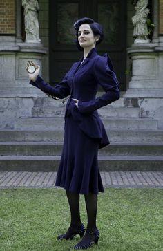 Green as the bird-like Miss Peregrine in Tim Burton's latest cinematic flight of fantasy. Picture: Twentieth Century Fox