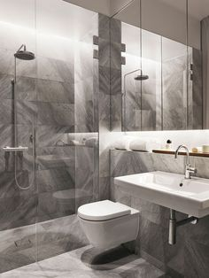 50 Ideas bathroom white shower wet rooms for 2019 Modern Bathroom Design, Contemporary Bathrooms, Bathroom Interior Design, Modern Bedroom, Gray Bedroom, Bathroom Designs, White Shower, White Bathroom, Small Bathroom