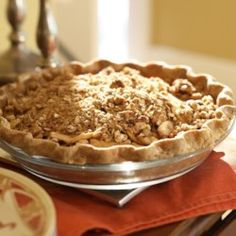 oatmeal-nut crunch apple pie - eatingwell.com see also http://www.lifescript.com/food/healthy_recipes/recipe_collections/dessert/10_perfect_pies.aspx